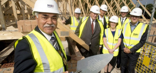HBVillages Sunderland Topping Out Ceremony and Feature in Sunderland Echo